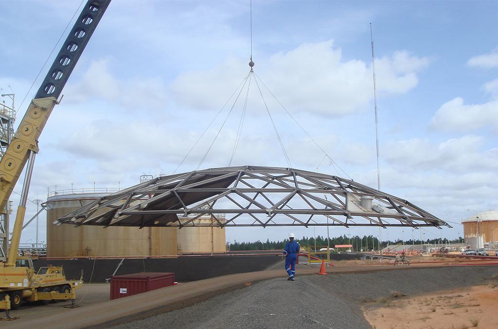 Diorca Aluminium Geodesic Domes